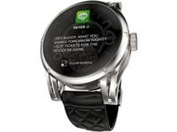 "Kairos, pantalla OLED transparente sobre un reloj ""convencional"""