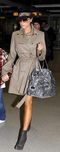 El look de Victoria Beckham de vuelta a Londres