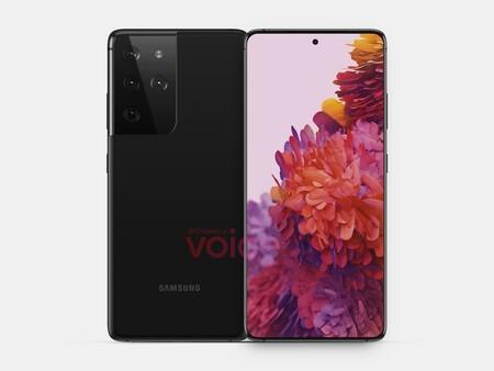 Galaxy S21 y S21 Ultra: se filtran las primeras imágenes de los próximos flagships de Samsung, sin muchos cambios de diseño