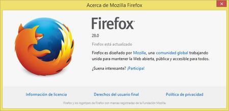 Firefox 28 ya está disponible para su descarga