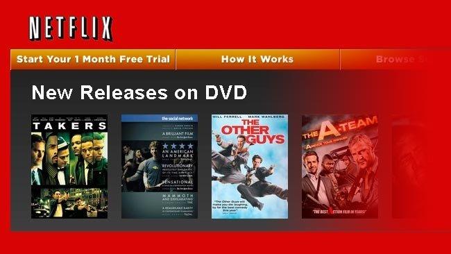 Netflix duda sobre su entrada en el mercado español