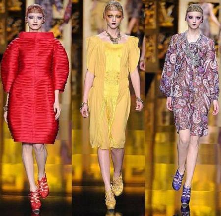 Christian Dior Otoño-Invierno 2009/2010 en la Semana de la Moda de París