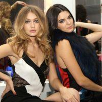 Kendall Jenner y Gigi Hadid se intercambian el estilo para el desfile de Balmain