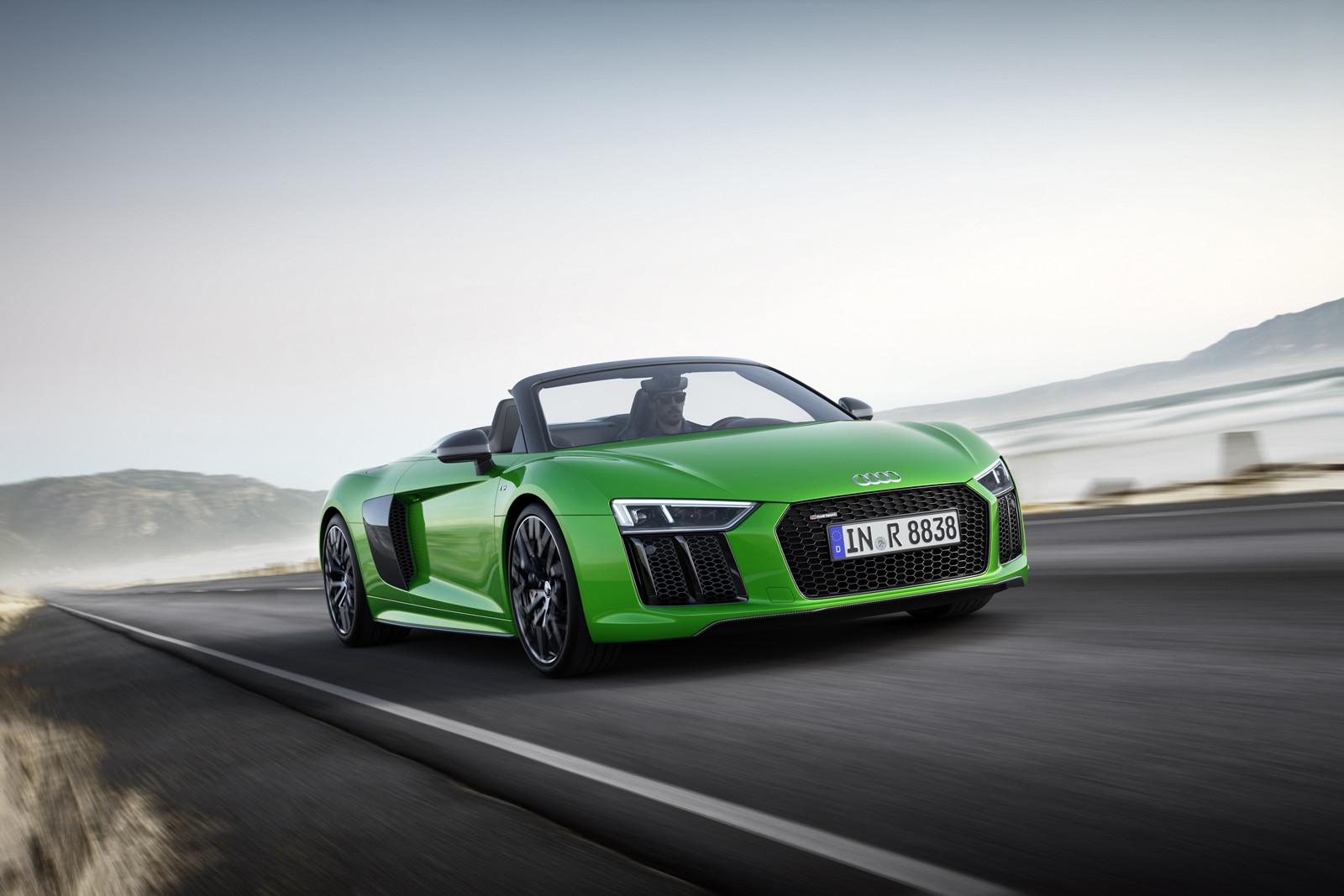 Foto de Audi R8 Spyder V10 Plus (6/10)