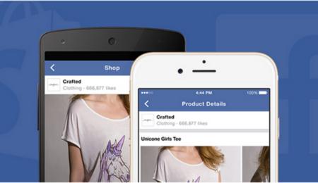 Facebook sube la apuesta y lanza tiendas online con Shopify