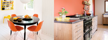 Decorar la cocina con colores anaranjados, un reto que te proponemos aceptar con estas 17 ideas exitosas