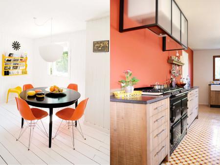 Decorar la cocina con colores anaranjados, un reto que te proponemos ...
