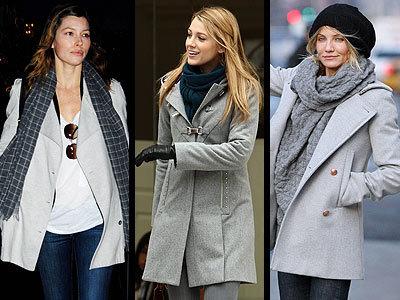 Lo que se lleva este invierno: abrigos de color gris