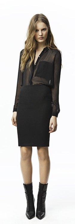 Transparencias negras Zara Trafaluc colección octubre