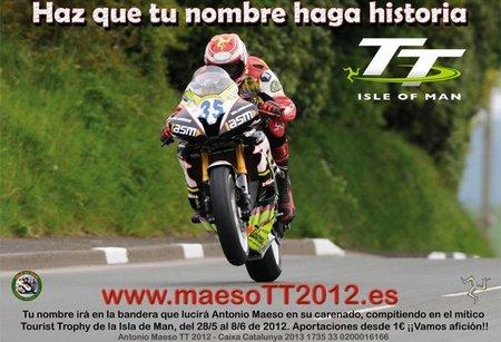 Llevemos a Antonio Maeso al Tourist Trophy 2012