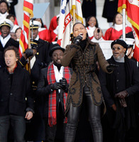 Los famosos en el gran concierto inaugural de Obama