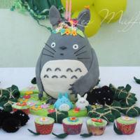 Tarta y cupcakes