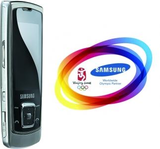 Tres móviles Samsung para Pekín 2008