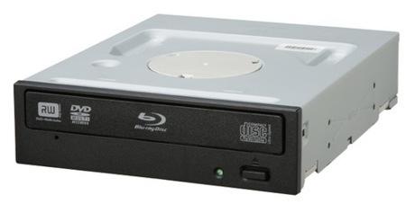 Pioneer BDR-203BK permite grabación de Blu-ray a 8X