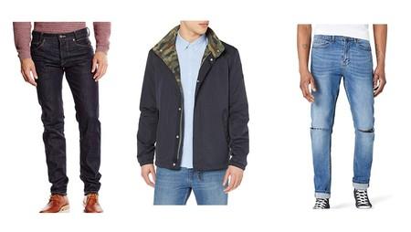 Chollos en tallas sueltas de pantalones vaqueros y chaquetas de marcas como Pepe Jeans, Geographical Norway o Jack & Jones en Amazon