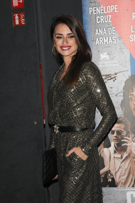 Penélope Cruz vuelve a confiar en Chanel para acudir a la premiere de Cuban Network