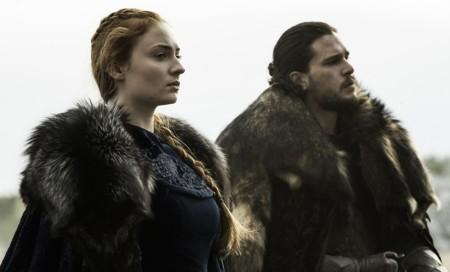 Sansa Jon La Batalla De Los Bastardos
