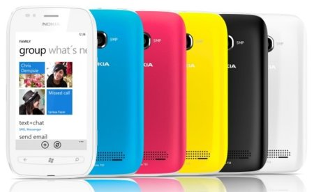 Nokia Lumia 710 con Windows Phone 7