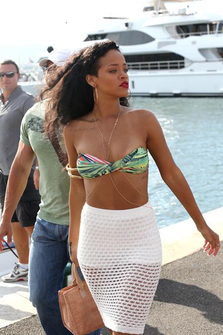 Rihanna cambio de look