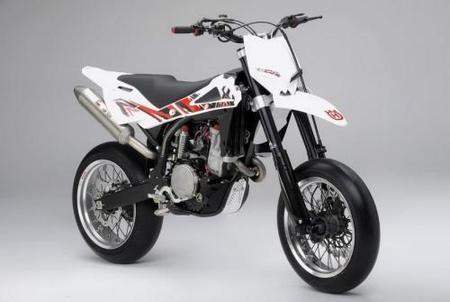 Husqvarna SM 530RR, la moto de Adrien Chareyre