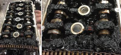 Así puede quedar tu motor si no cambias el aceite