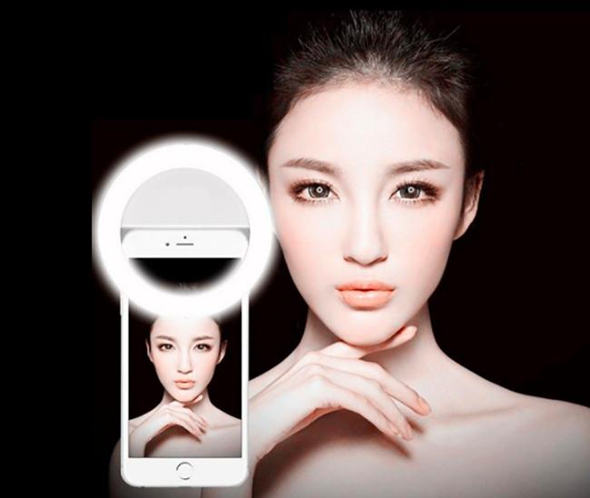 Anillo de fotografía LED Selfie