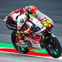 Tatsuki Suzuki manda en el regreso de Moto3 al Red Bull Ring con Albert Arenas quinto