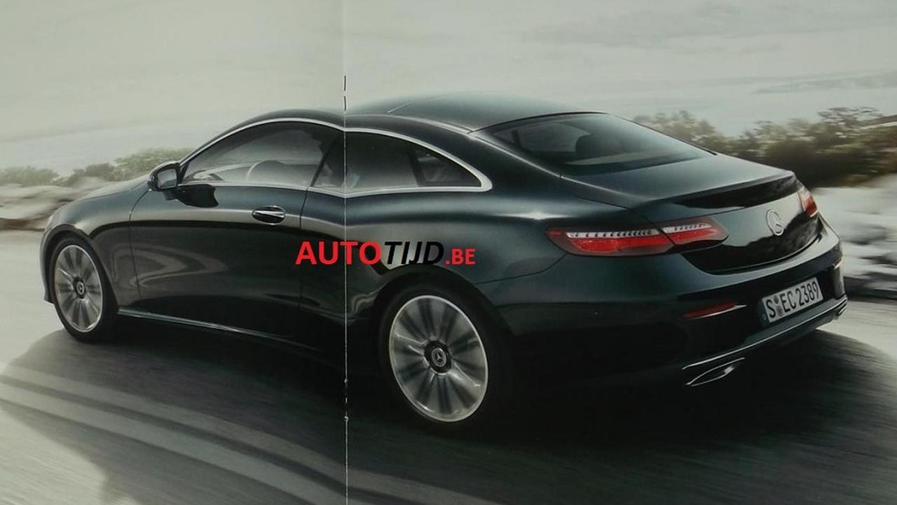 Mercedes-Benz Clase E Coupe 2018 (filtraciones)