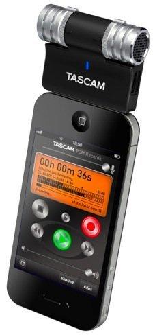 Tascam IM2, micrófono profesional para iPhone