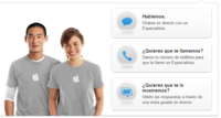 Apple incorpora la funcionalidad de consulta con especialistas on-line en la web del iPad