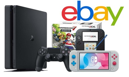 Para regalar en navidad, en eBay tienes consolas y packs más baratos con el cupón PREGALO5