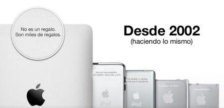 Grabado láser en el iPad (y los iPod), ridículamente insuficiente