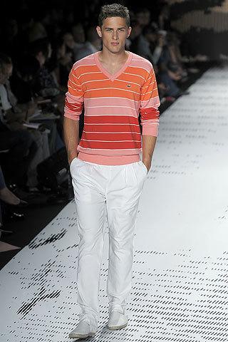 Colores tendencia 2009 para hombre (I): el rosa y el geranio