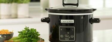 Esta olla de cocción lenta Crock-Pot, con temporizador digital, es una gran aliada en la cocina y está a su precio mínimo en Amazon