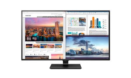 43 pulgadas y resolución 4K para tu PC, con el monitor LG 43UD79-B, por 639 euros en PcComponentes
