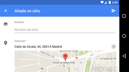 Google Maps permite a todo el mundo añadir sitios y hacer modificaciones
