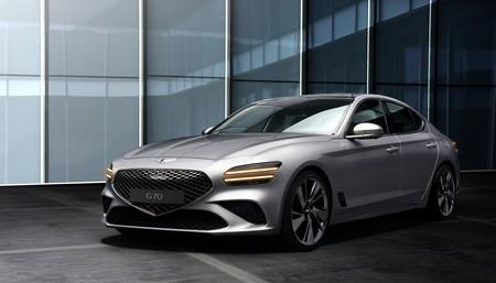 Nuevo Genesis G70: el rival coreano del BMW Serie 3 apuesta por un cambio radical, pero no llegará a Europa (al menos por ahora)
