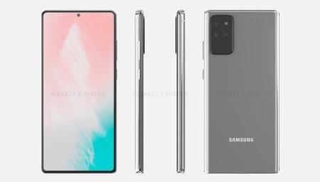 Así será el Samsung Galaxy Note 20 según las primeras imágenes filtradas