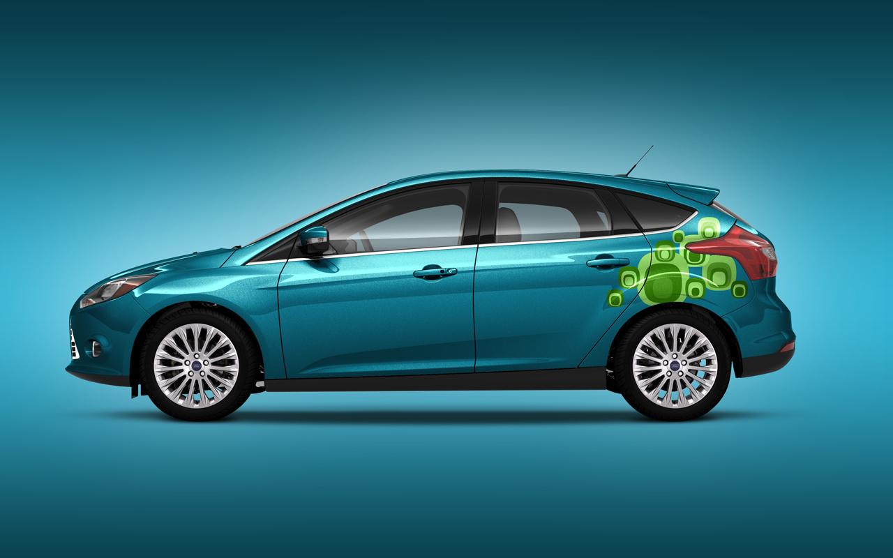 Foto de Ford Focus 2012 Vinilos (7/8)