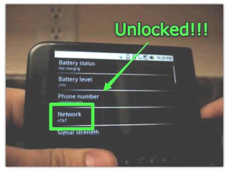 T-Mobile G1 desbloqueado, pero pierde importantes características