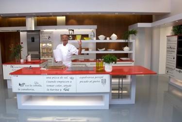 La nueva cocina de Karlos Arguiñano en Antena 3