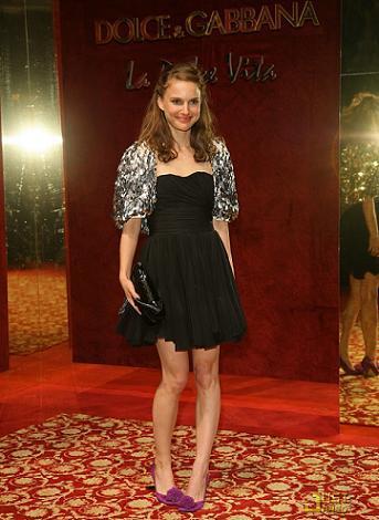 Natalie Portman en la fiesta de Dolce & Gabbanna en Cannes