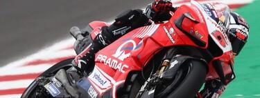 Johann Zarco domina en Misano en lluvia pero no evita que Maverick Viñales sea el más rápido del viernes en MotoGP