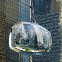 Módulos aéreos transparentes como medio de transporte ante el tráfico en las calles