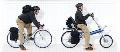 La bicicleta Bigha, preparada para viajar