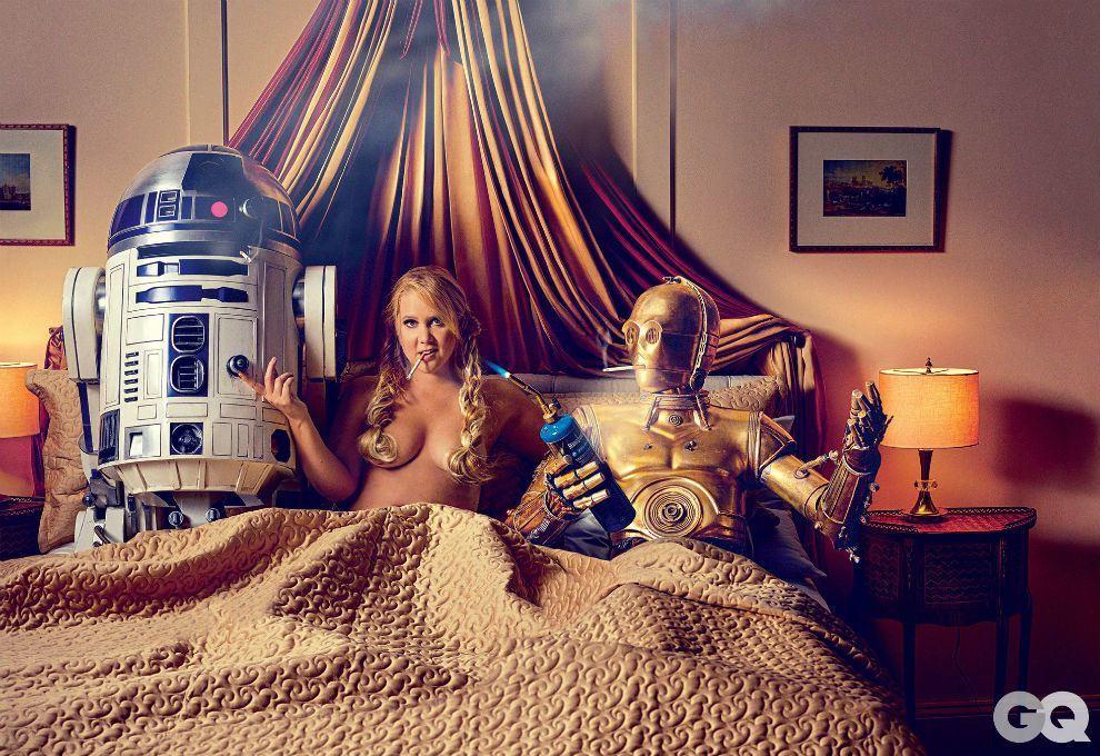Foto de El homenaje de Amy Schumer a Star Wars (1/7)