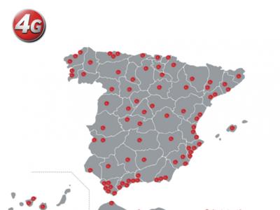 Vodafone 4G se expande a todas las provincias