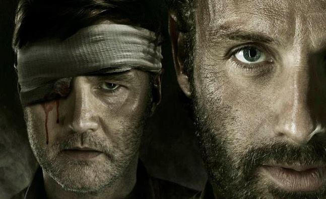 'The Walking Dead' cartel temporada 3