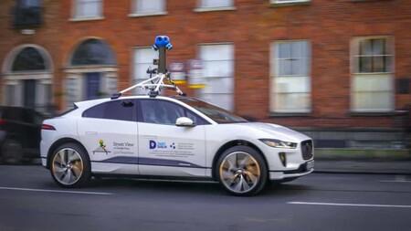 Jaguar Ipace Google Street View 1
