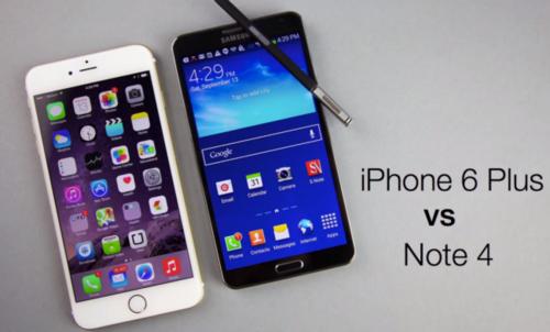Samsung Galaxy Note 4 y iPhone 6 Plus: ¿cuál es el mejor phablet? (con vídeo)